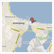 Map to Dentist Jeff Sultan in Jönköping