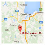 Karta till Tandläkare Jeff Sultan i Jönköping